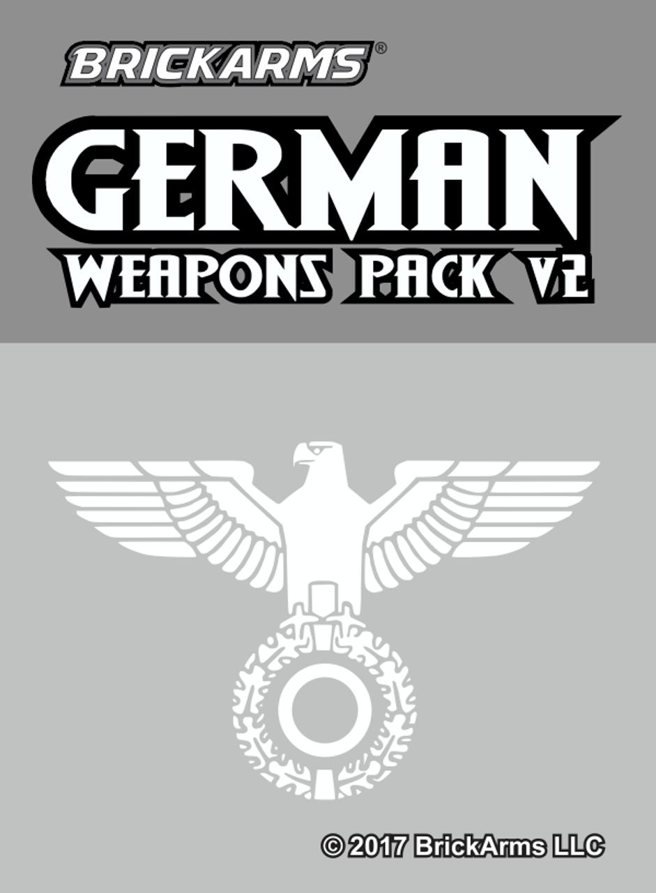 BrickArms German Weapons Pack V2
