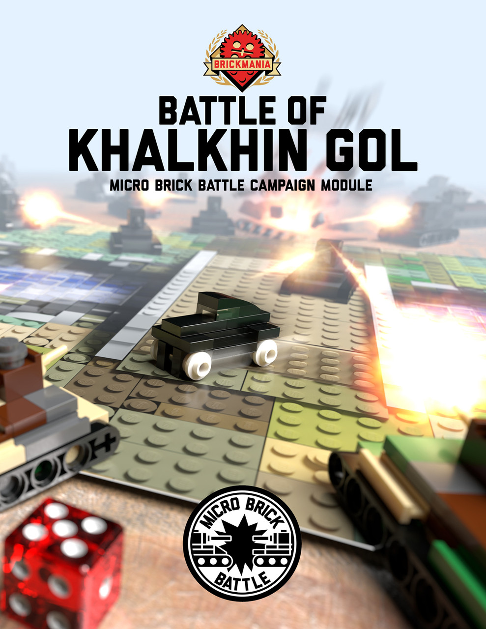 Battle of Khalkhin Gol - Micro Brick Battle Campaign Module