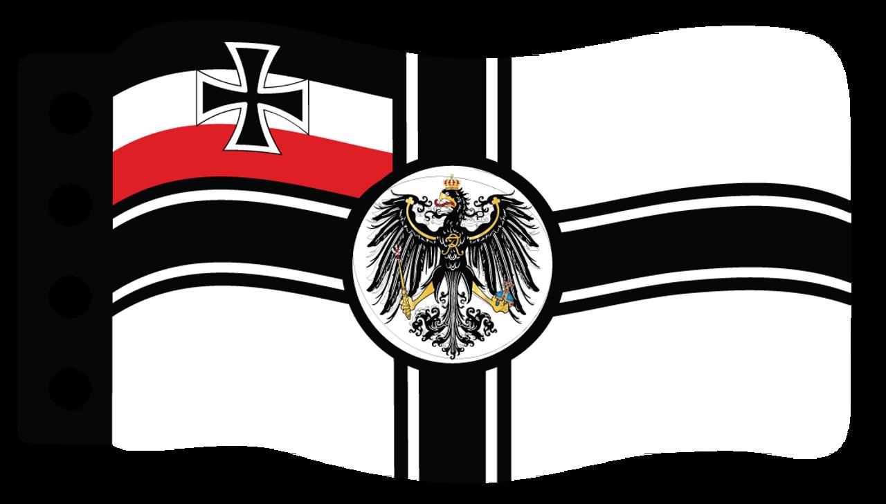 Flag German Imperial War Brickmania Toys