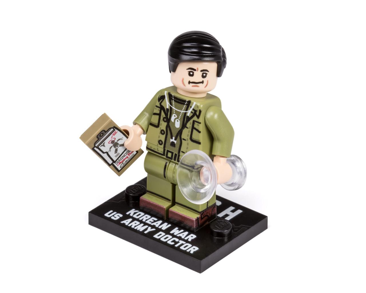 Korean War US Army MASH Doctor