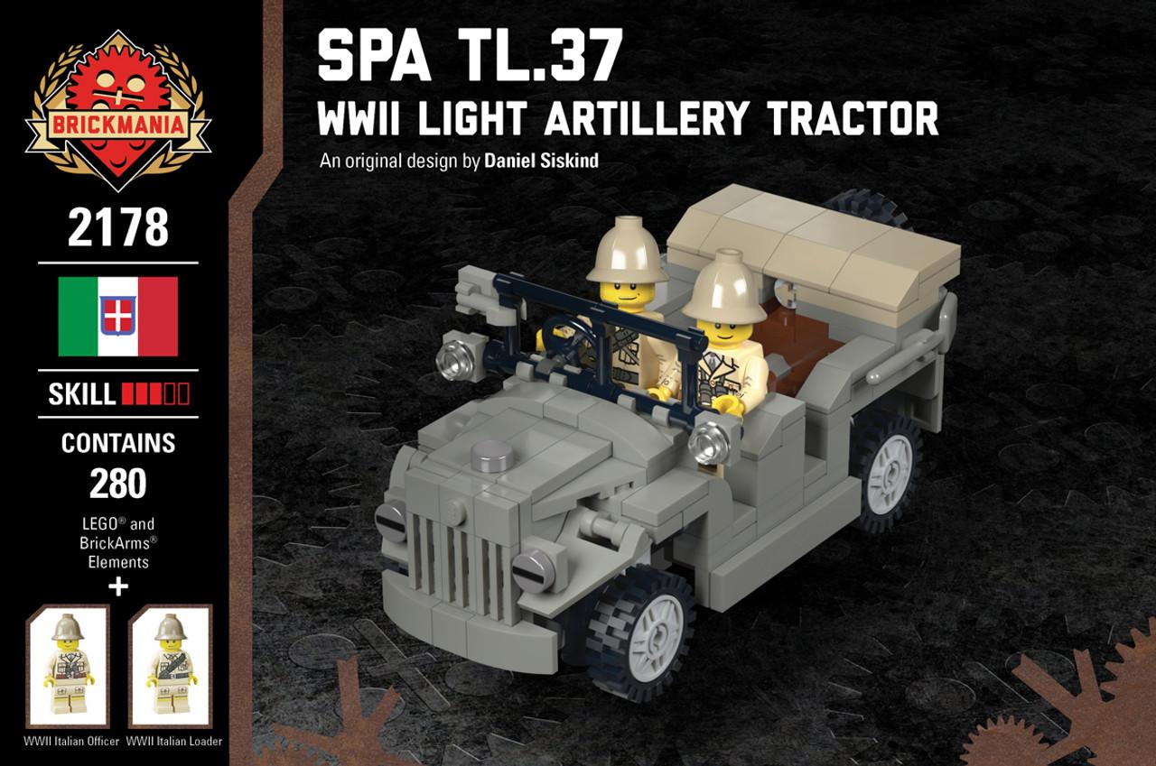 SPA TL.37 - WWII Light Artillery Tractor