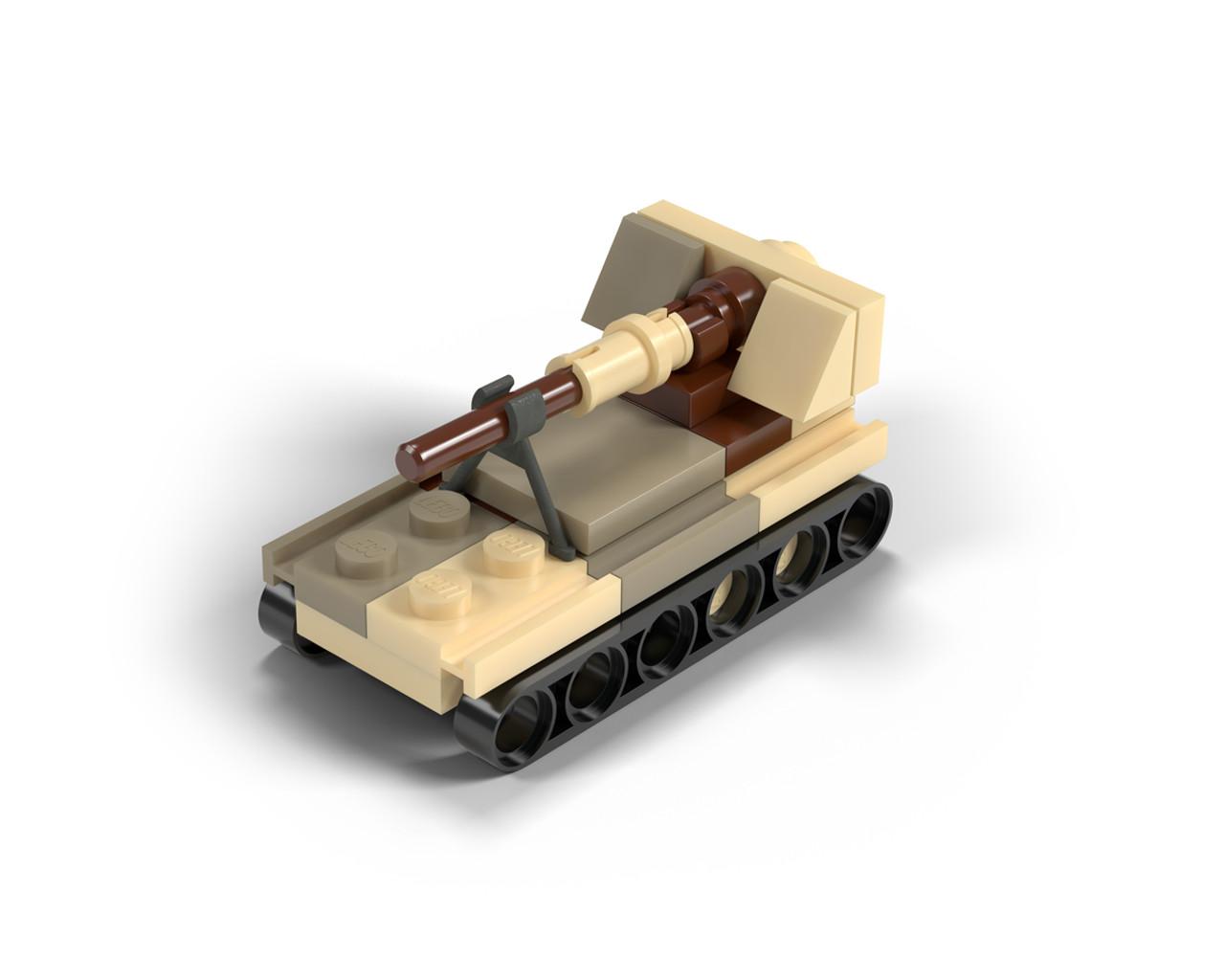 Micro Brick Battle - Semovente Da 90/53 - Desert Camo