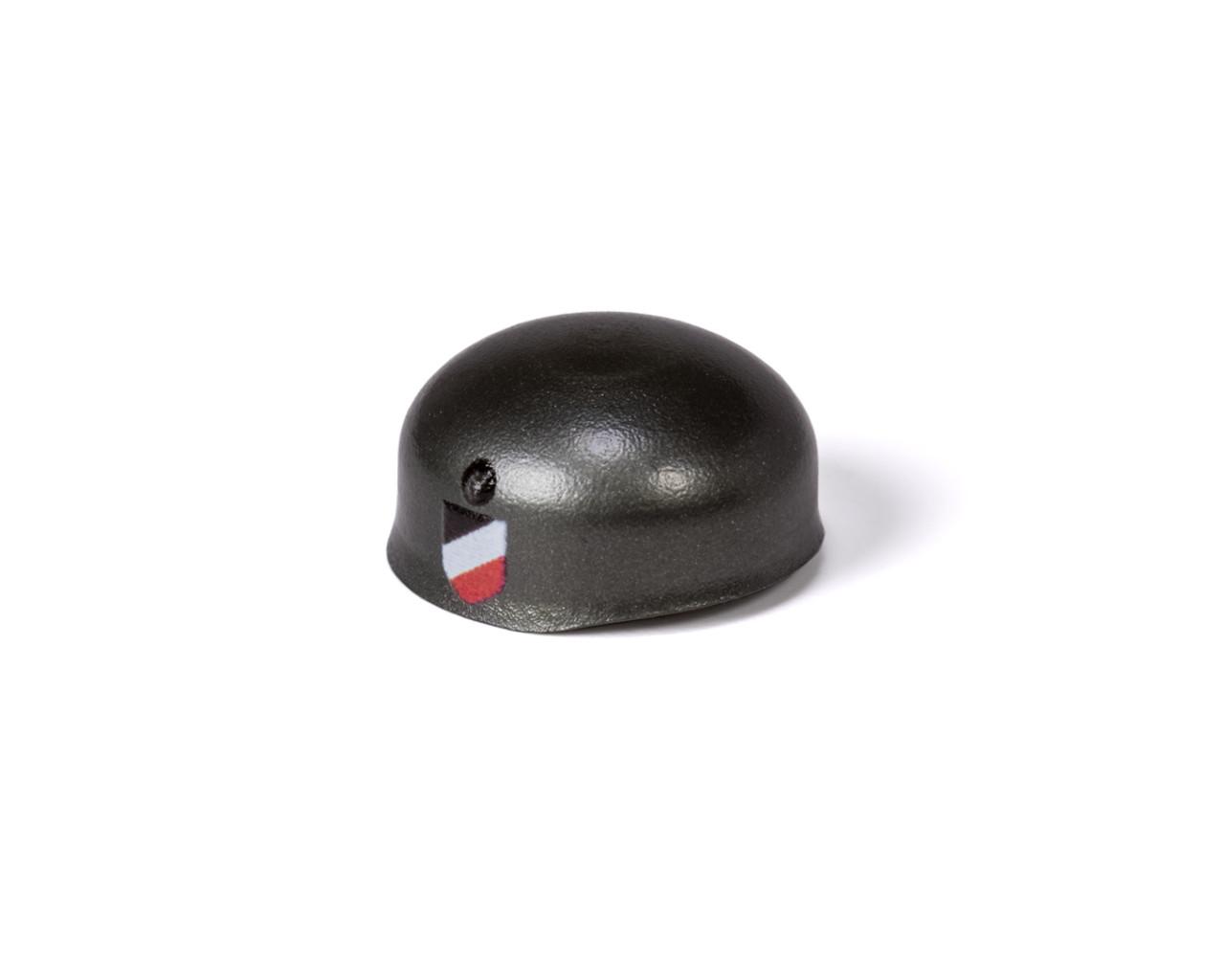 WWII Fallschirmjäger Helmet with Side Prints (Gunmetal)