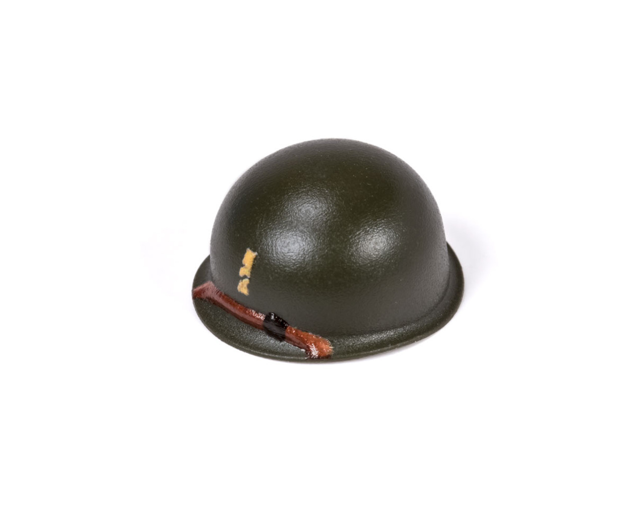 M1 Steel Pot Helmet - 2nd Lieutenant Rank