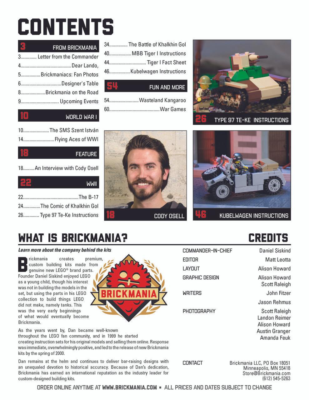 Brickmania Magazine Issue #22 Summer 2018