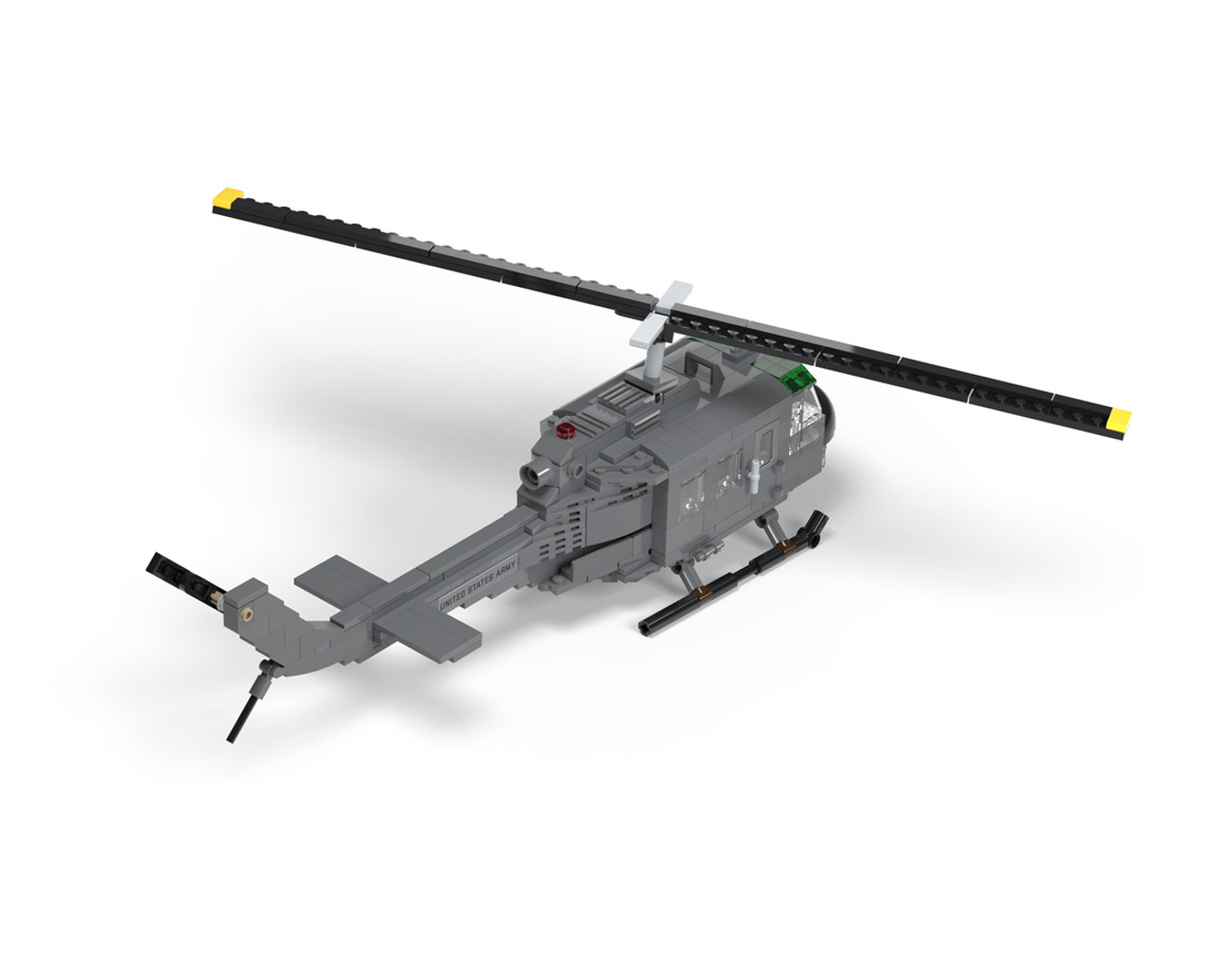 """UH-1D """"Huey"""" - Multipurpose Utility Helicopter"""