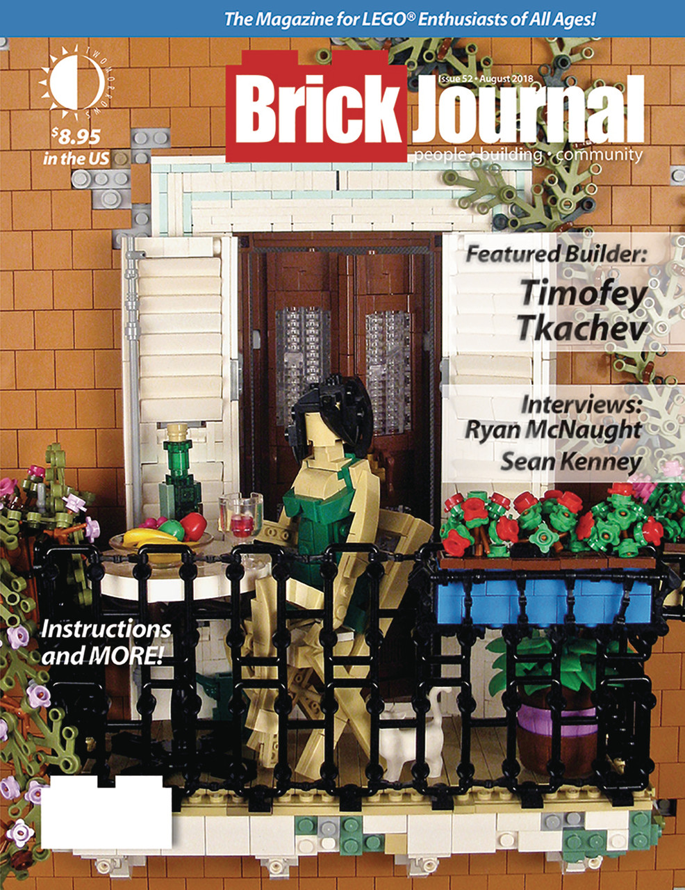 BrickJournal: Issue 52 - August 2018