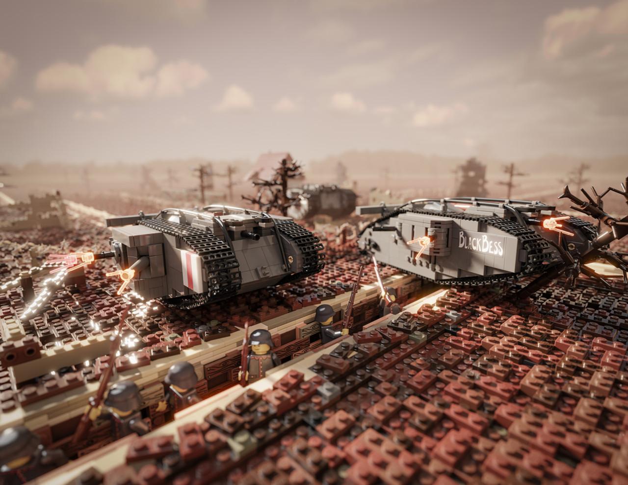 """Black Bess"" - Mark IV Heavy Tank"