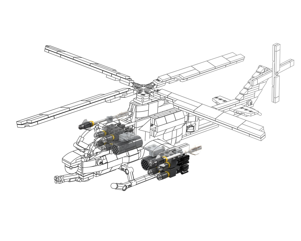 Viper Load-Out - Weapons Pack for AH-1Z Viper