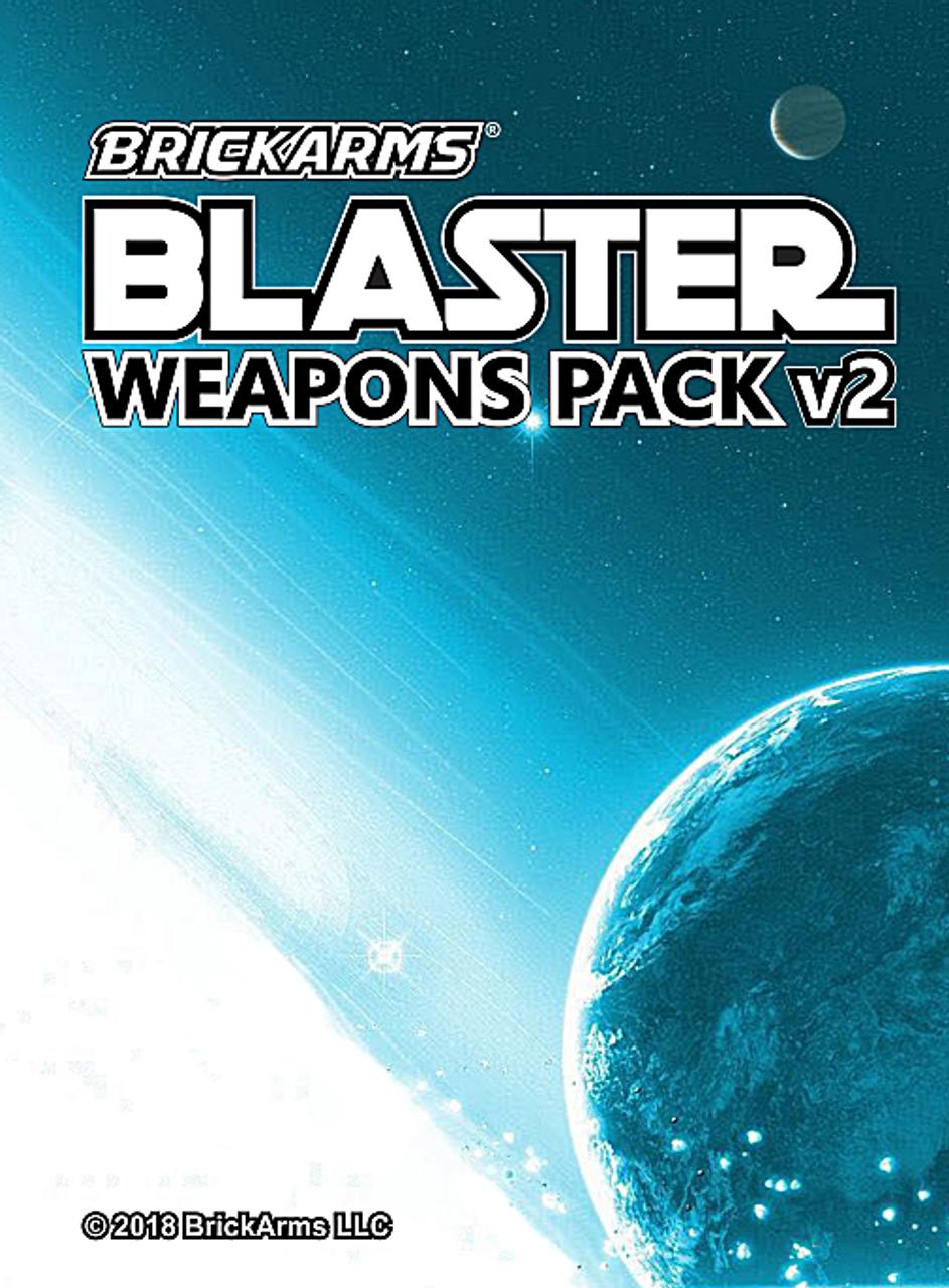 BrickArms Blaster Weapons Pack v2