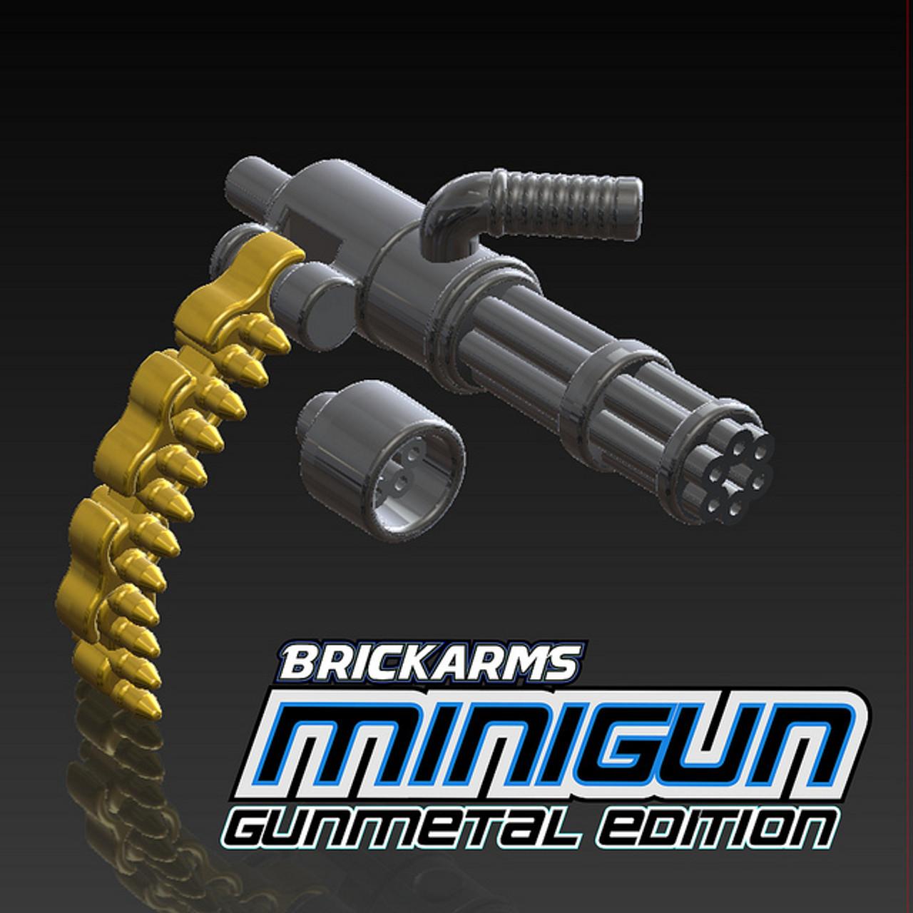 Minigun Bullet BrickArms Minigun with...