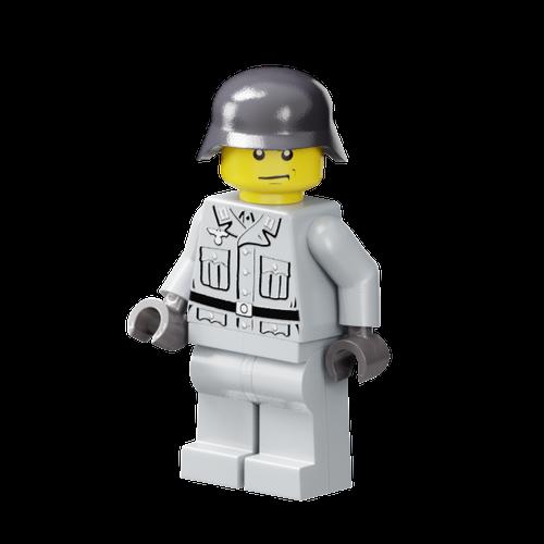 World War II German Heer Soldier - Light Gray