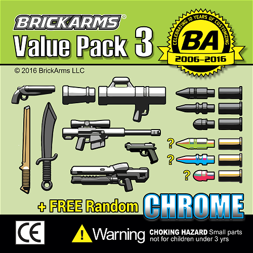 BrickArms Value Pack #3