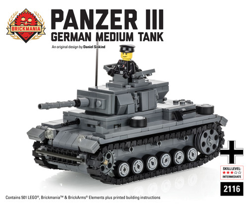 Panzer III - German Medium Tank