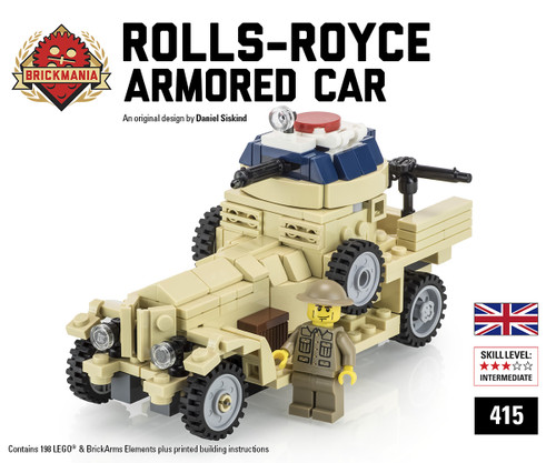 Rolls-Royce Armored Car (Tan)