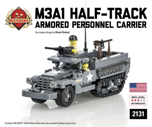 M3A1 Half-Track Armored Personnel Carrier