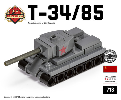 Micro Brick Battle - T-34/85