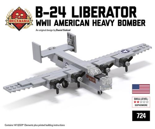 Micro Brick Battle - B-24 Liberator