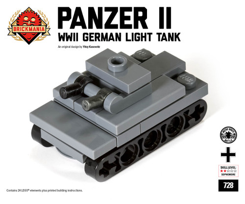 Micro Brick Battle - Panzer II