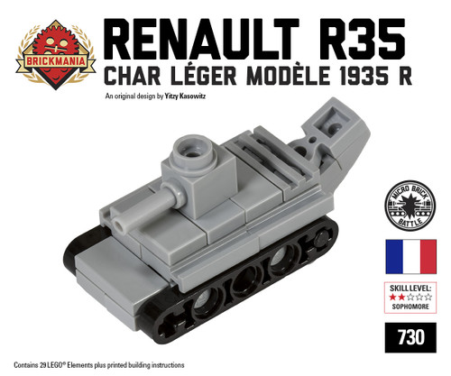 Micro Brick Battle - Renault R35
