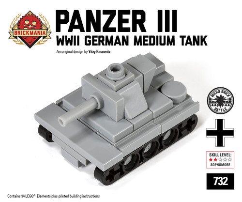 Micro Brick Battle - Panzer III
