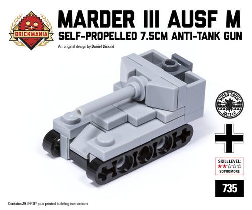 Micro Brick Battle - Marder III Ausf M