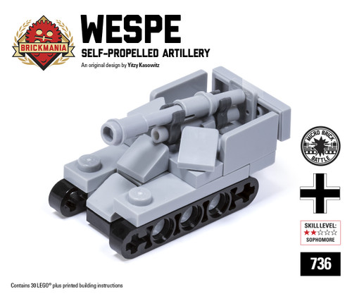 Micro Brick Battle - Wespe