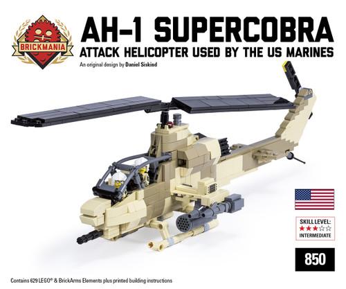 AH-1W SuperCobra - Brickmania Toys