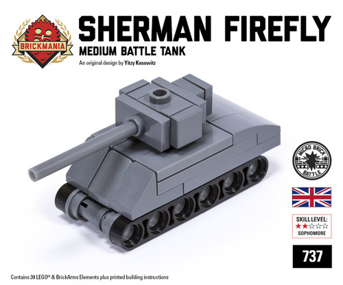 Micro Brick Battle - Sherman Firefly