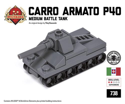 Micro Brick Battle - Carro Armato P40