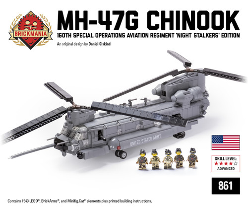 MH-47G Chinook - 160th Special Operations Aviation Regiment (SOAR) 'Night Stalkers' Edition