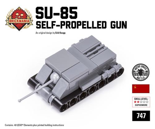 Micro Brick Battle - SU-85