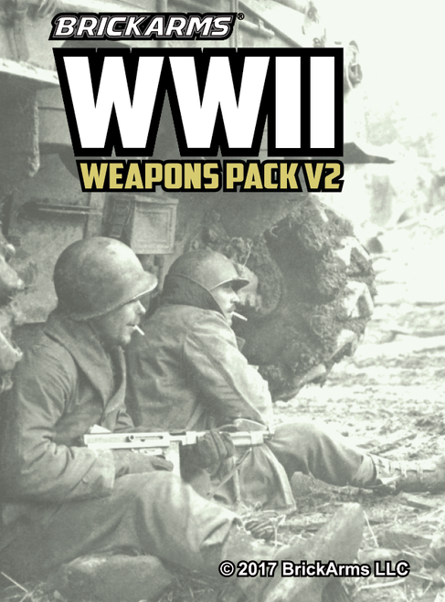 BrickArms WWII Weapons Pack V2