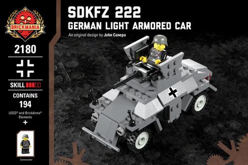 Sdkfz 222 - German Light Armored Car