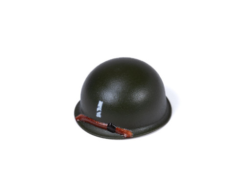 M1 Steel Pot Helmet - 1st Lieutenant Rank