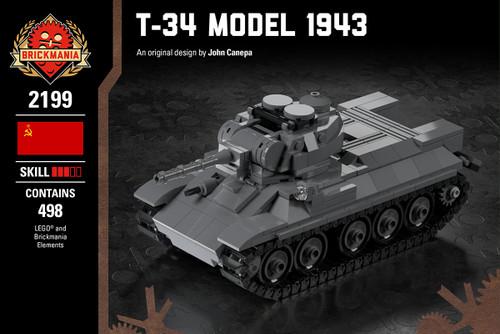 T-34 Model 1943