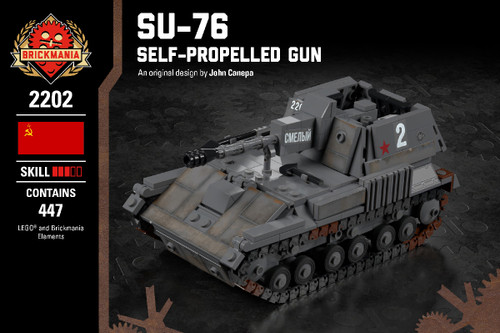 SU-76 Self-Propelled Gun