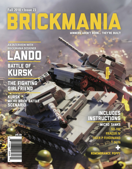 Brickmania Magazine Issue #23 Fall 2018