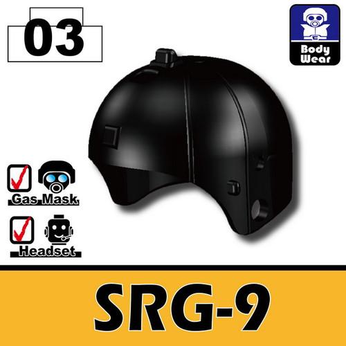 Minifig.Cat Ballistic Helmet (SRG-9)