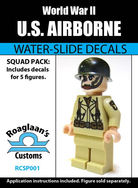 World War II US Airborne Squad Pack - Water-Slide Decals
