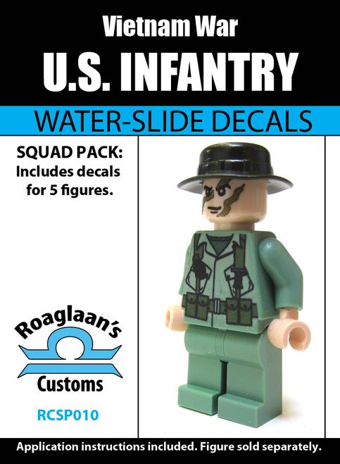Vietnam War US Infantry Squad Pack - Water-Slide Decals