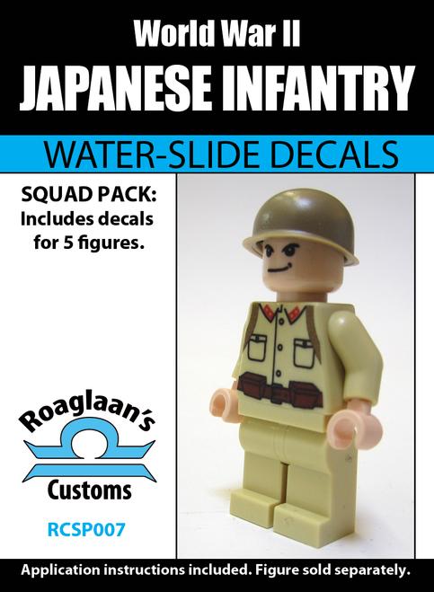 World War II Japanese Infantry Squad Pack - Water-Slide Decals