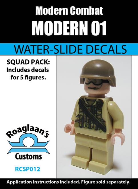 Modern Soldier 01 - Water-Slide Decals