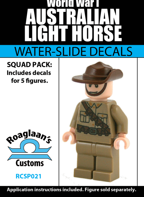 World War I Australia Light Horse Squad Pack - Water-Slide Decals