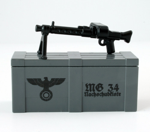 MG34 and Printed Crate