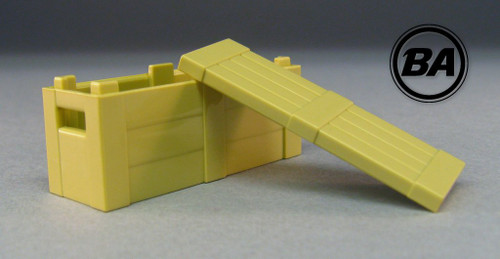 BrickArms Crate With Lid