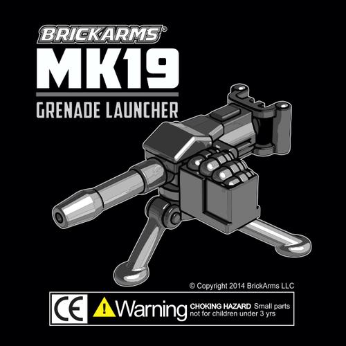 BrickArms Mk19 Grenade Launcher