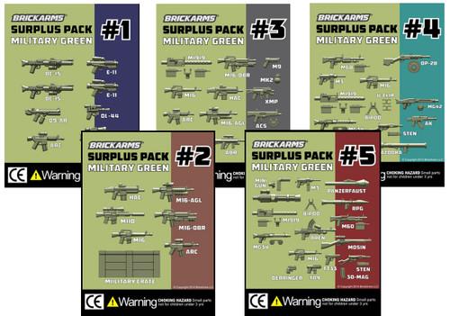 BrickArms Surplus Packs