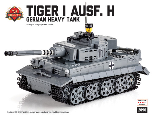 Tiger I Ausf H - Premium Black Box Kit