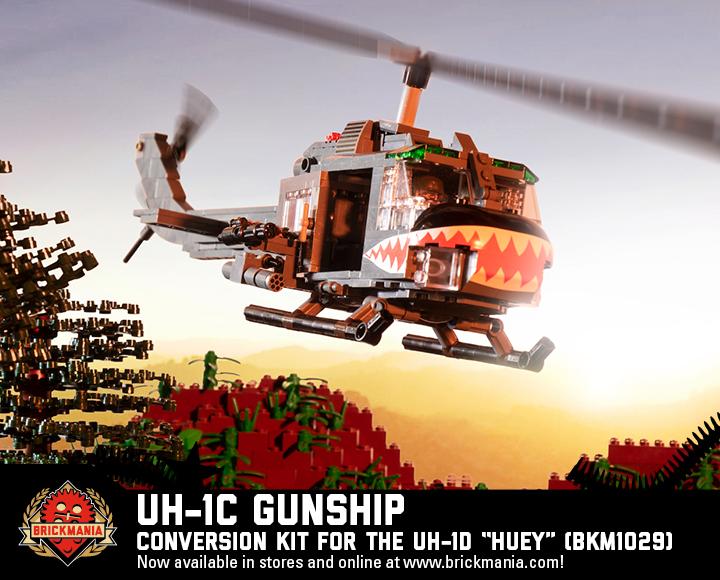 "UH-1C Gunship - Conversion Kit for the UH-1D ""Huey"